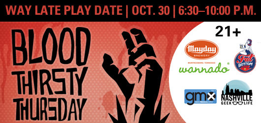 Blood Thirsty Thursday 2014