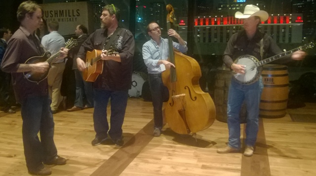 bluegrass band @ Nashville Whiskey Festival