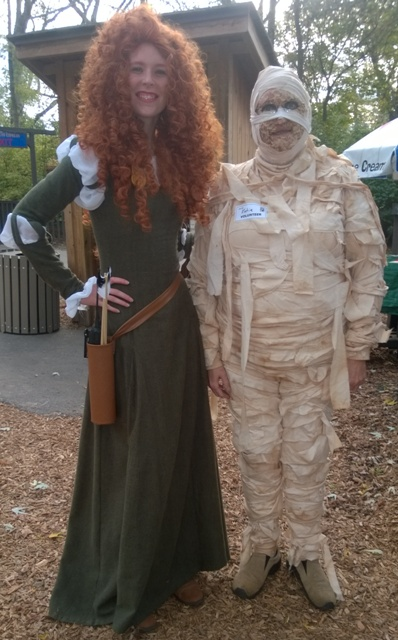 Ghoul Cosplayers