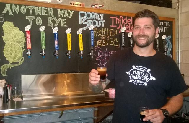 Dan Dutcher beer samples