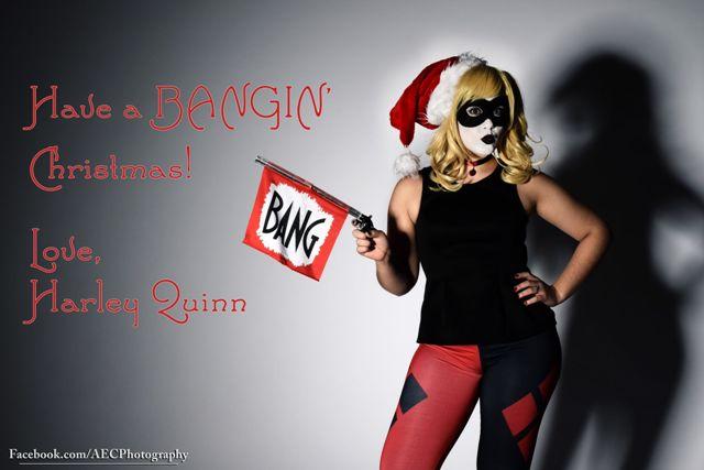 Bangin Christmas Harley QUinn