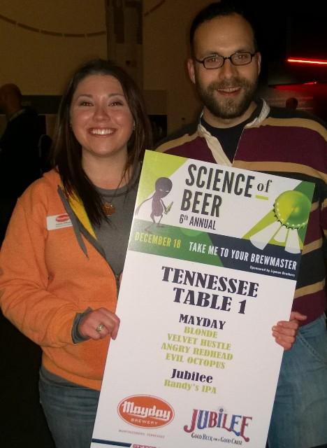 Science of Beer Mayday Brewery