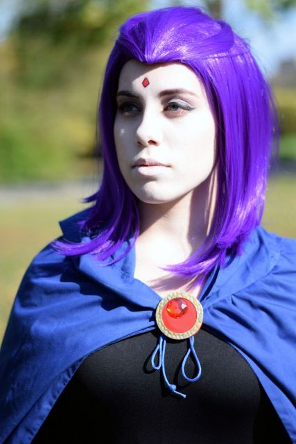 Kassandra Cosplayer's Raven