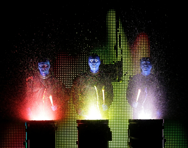 Blue Man Group National Tour 5, Photo credit: ©Paul Kolnik