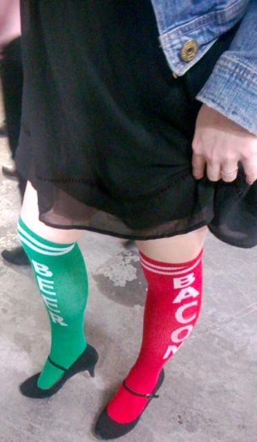 Beer & Bacon socks