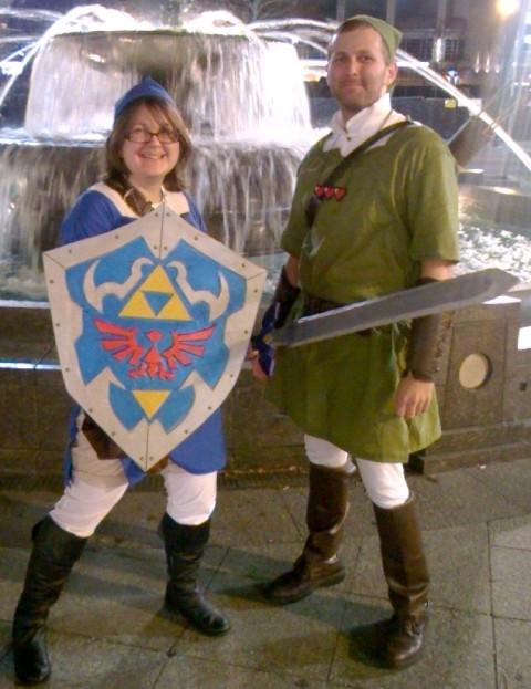 Zelda Symphony Cosplayers