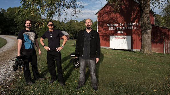 Ghost Adventures Crew Bell Witch Cave