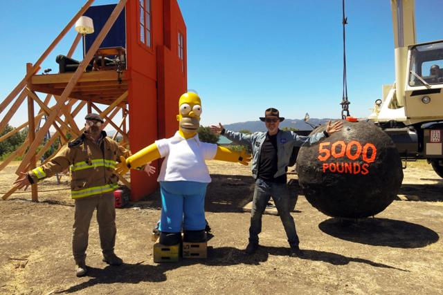Mythbusters The Simpsons Special