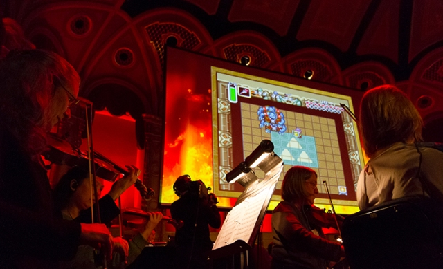 Zelda Concert Performance