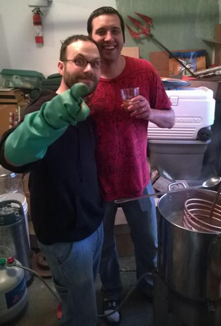 brewing with Jason Gross