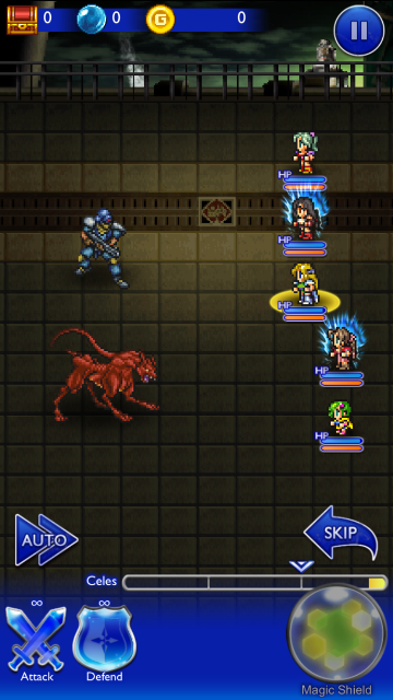 An all female group from FF IV, VI and VII.