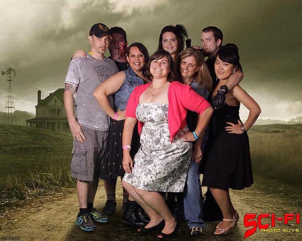 2014 Apocalypse Rising Track Staff (left to right): Billy McKinney, Michael Front, Samantha Zuniga, Lauren Groont, Kelly Brewer, Drew Husky, Emily Yang