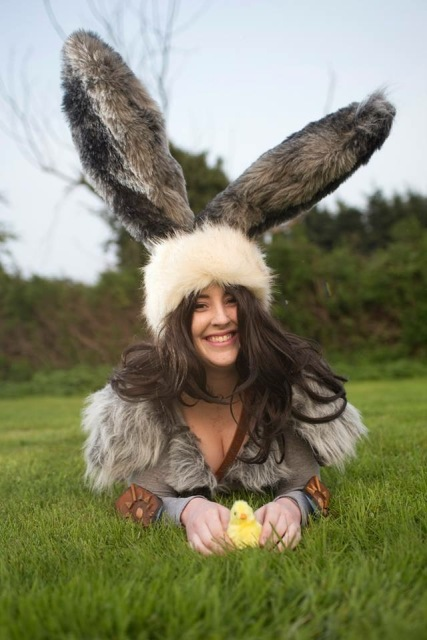 Bunnymund from Rise of the Guardians, photo by Grahamedia
