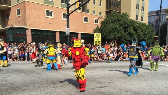 2015 Dragon Con Parade Cosplayers