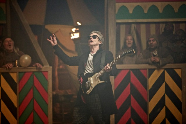 Picture Shows: Doctor Who (PETER CAPALDI) - (C) BBC - Photographer: Simon Ridgway