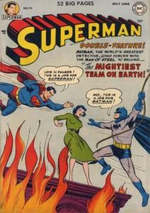 batman supes first team up