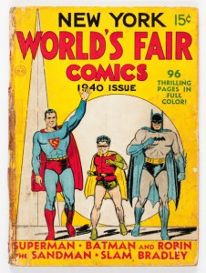bats supes 1st on cover