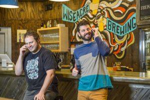 Wiseacre Brewing Co-Founders Davin Bartosch (left) and Kellan Bartosch (right). Photo Courtesy: Wiseacre Brewing Co.