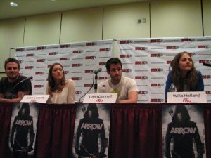 Arrow cast at Fan Expo 2