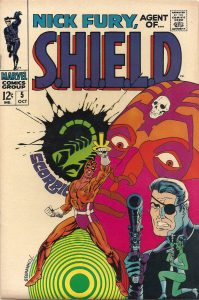Jim Steranko SHIELD art