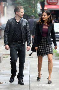 Ben McKenzie is Jim Gordon and Jamie Chung is Valerie Vale in Gotham.