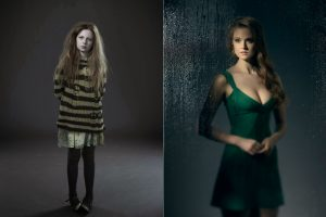 The old and the new Ivy: Clare Foley and Maggie Geha in Gotham