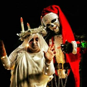 Eerie and the Ghost of Christmas Past at Nashville Nightmare