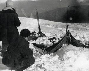 Dyatlov Pass Incident tent