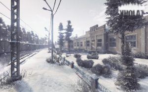 Opening scene from Kholat video game
