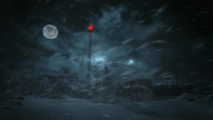 Night scene in KHOLAT video game