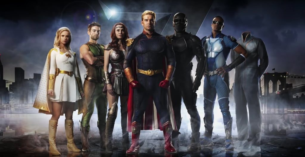 The Seven superheroes from Amazon's show The Boys