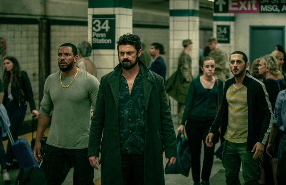 Karl Urban leads a group of vigilantes in the Amazon Prime Video show The Boys