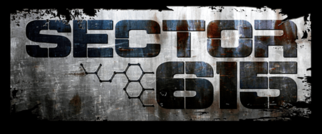 Sector 615 haunted house logo at Nashville Nightmare