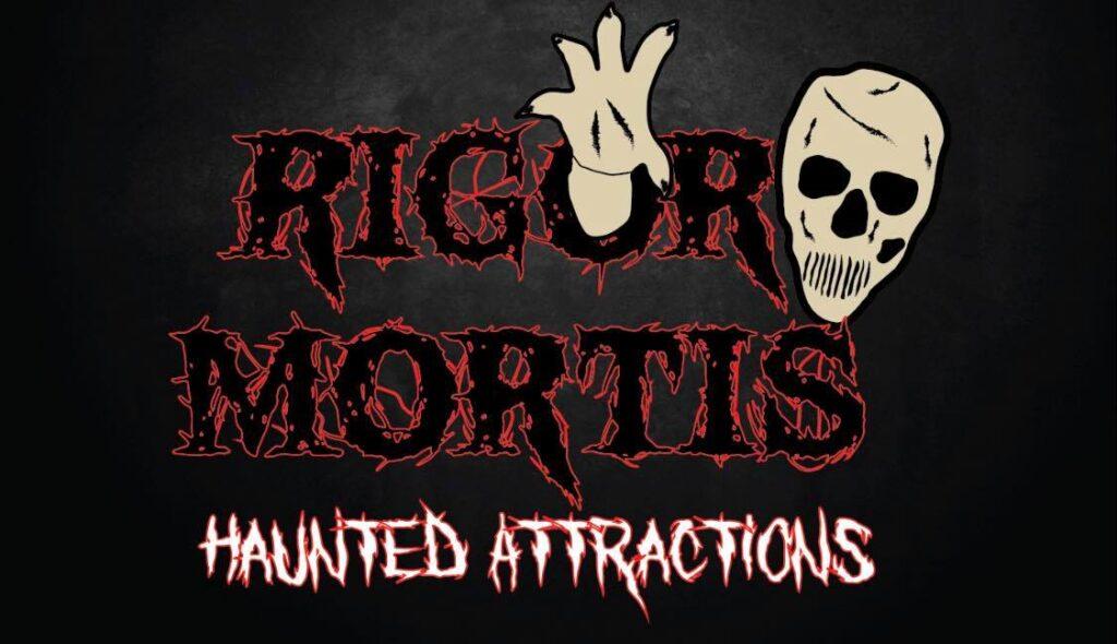 Rigor Mortis Haunted House McMinnville TN logo